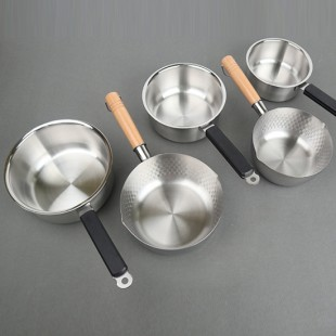 스텐 함마톤 냄비 편수 자루 냄비 업소용 라면