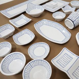 KDS 돌산 클라우드 시리즈 멜라민 그릇 접시 대접 탕기