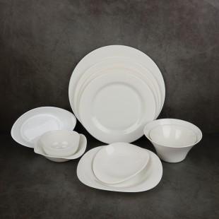 프랑스 제닉스[Zenix] 접시 볼 모음 웨이브 플레이트 파스타 레스토랑 고급 식기 그릇